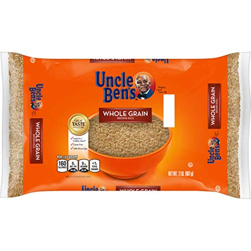 UNCLE BEN'S Whole Grain Brown Rice Bag, 2lb.