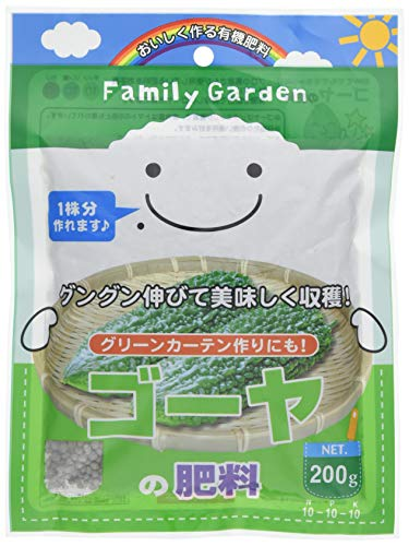 朝日工業 Family Garden ゴーヤの肥料 200g
