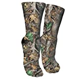 Realtree Camo Wallpapers Compression Socks Unisex Printed Socks Crazy Patterned Fun Long