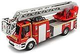 Bburago Maisto France-32001-Camion de Pompiers Iveco Magirus 150E 28-Véhicule Miniature-Échelle 1/55, 32001, Unique