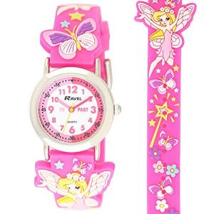 Ravel Girl's Pink Fairy Time Teacher Watch