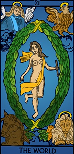 The World Tarot Card Poster Print by Science Source (24 x...