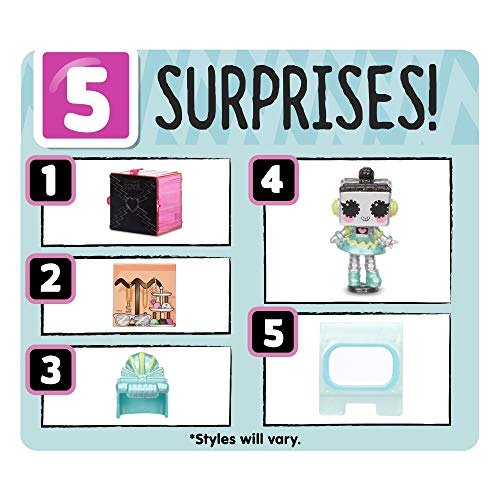 Image 6 - L.O.L. Surprise, Tiny Toys - Coffret 5 Surprises dont 1 tiny 1,5cm, Accessoires, pièce de Glamper, Fonction Eau Surprise, Modèles Aléatoires à Collectionner, Jouet pour Enfants dès 3 Ans, LLUB5