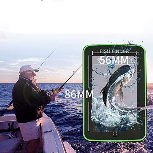Pesca Portatile del Sonar sensore di profondit Rilevatore di fishfinder wireless a colori touch screen a colori, a 500 metri di distanza per ricevere il numero di dimensioni della posizione del pesce