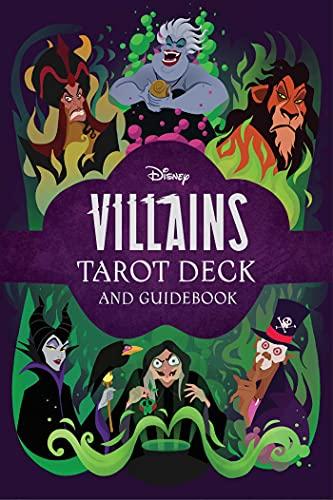 Disney Villains Tarot Deck and Guidebook | Movie Tarot Deck...
