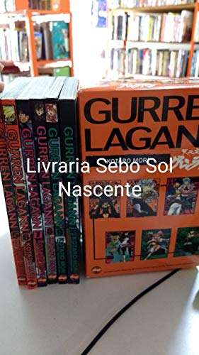 Gurren Lagann - Volumes 5 à 11. Caixa
