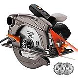 Sierra circular TACKLIFE 1500W 4700 RPM con...