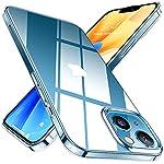【澄み切った透明感】iPhone 13 mini 用 ケース(2021年5.4インチ)クリスタルのような澄み切った全透明デザイン。透き通った透明度を誇り、普通のケースより2.5倍もクリアです。スタイリッシュで高級感溢れるデザインは、アイフォン13 ミニ本来の美しいカラーと質感をそのままに引き出しつつ、より美しく魅力的にします。 【SGS認証済み・絶対安心のTPU】ドイツバイエル社の高級TPU素材を採用し、ベタかず適度な柔らかさで触り心地がすごく良い。弾力性が高くて変形しにくく、柔軟性あって着脱は...
