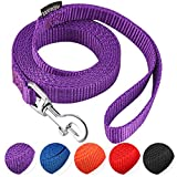 AMAGOOD 6 FT Puppy/Dog Leash, Strong and Durable Traditional