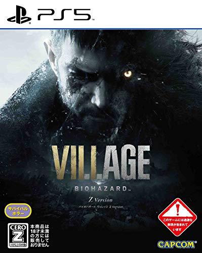 【PS5】BIOHAZARD VILLAGE Z Version【予約特典】武器パーツ「ラクーン君」と「サバイバルリソースパック」...