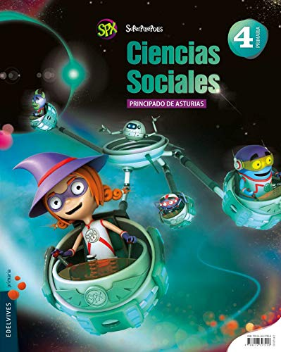 Ciencias Sociales 4º Primaria (P. de Asturias) (Superpixépolis) - 9788426397058