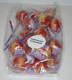 Linda's Lollies 15 Raspberry Lemonade Gourmet Lollipops - Nut, Gluten & Dairy Free - No Fat