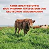 Gym Jerky Beef African Chili 1kg – 25x40g High Protein – Low Fat & Low Carb – Deutsches Premium-Rindfleisch Made in Germany - 5