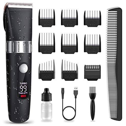 Hair Clippers for Men Professional, Cordless Beard Trimmer...
