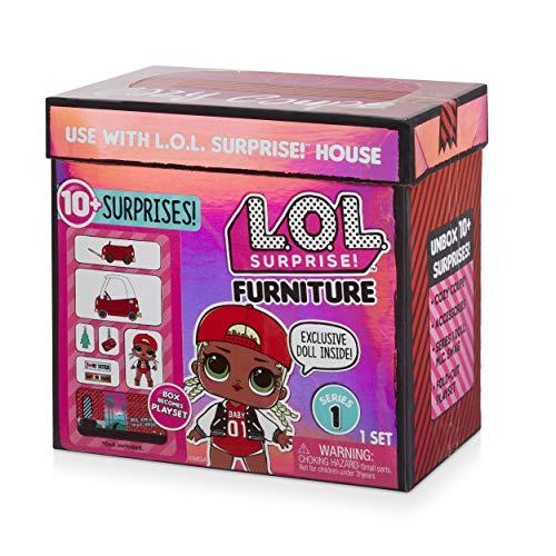 Image 5 - MGA- Meubles L.O.L Cozy Coupe avec poupée M.C. Swag et 10+ Surprises Toy, 564096E7C, Multicolore