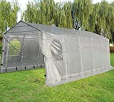 Quictent Snow Shed 11'X20' Heavy Duty Carport Garage Car Shelter with Observation Window