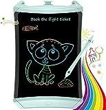 TEKFUN Tablet para niños 8.5 Pulgadas,Tableta de Escritura LCD de con Bloqueo de Pantalla borrable y función Reutilizable,Portatiles, Pizarra Luminosa niños,Juegos educativos(Green-1)