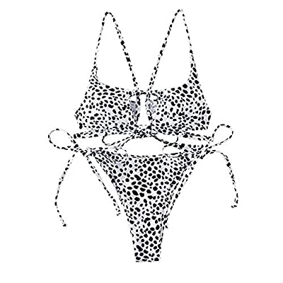 Material: Nylon,Spandex Features: braided strap, texture fabric, cute cutout.The strings were a bit long,you can separated them and cut the top one or cross them to create a different style Special hollow out design which shows your unique style Two ...