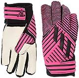 adidas Adult Nemeziz Lite Soccer Goalkeeper Gloves , Shock Pink/Core Black/Bright Cyan , 12
