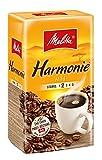 Melitta Harmonie Mild, Gemahlener Röstkaffee, Stärke 2, 500g