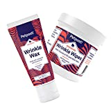 Petpost | Bulldog Wrinkle Care Kit - Natural Wrinkle Wax and Wipes Protect Dog Wrinkles and Folds - Avocado, Jojoba Paste, and Coconut Oil Formulas (Standard Wrinkle Care Kit)