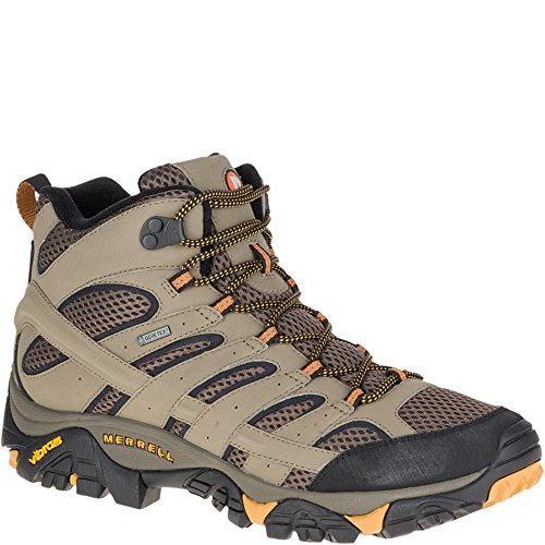 Merrell Men's Moab 2 Mid Gtx Hiking Boot, Walnut, 12 M US