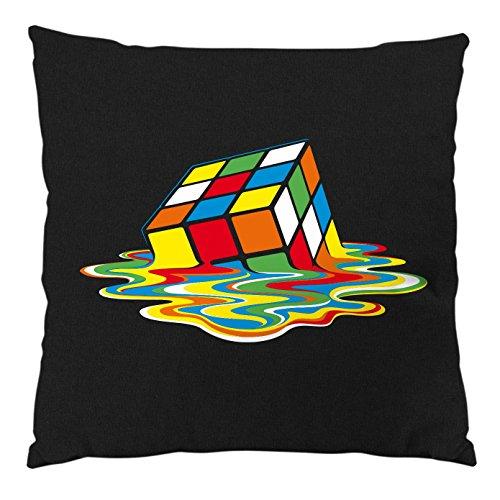 style3 Sheldon Cubo Mágico Cojín con relleno 28 × 28 cm funda de algodón