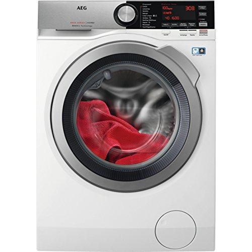 AEG l8wec166X autonomo carico anteriore a Argento, BiancoMacchine da lavare con asciugatrice (carico...