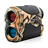 WOSPORTS Hunting Range Finder, 700 Yards Archery Laser Rangefinder for Bow Hunting with Flagpole...