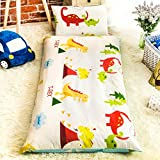 FF 100% Cotton cot Mattress, Waterproof Tatami Quilted mat Extra Soft mat Hypoallergenic Washable Cushions 70x140 cm (28x55 inches)