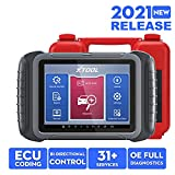 XTOOL D8 Automotive Scan Tool 2021 Newest, ECU Coding, Bi-Directional Control, OE All Systems Diagnostic, 31+ Services, Oil Reset, ABS Bleed, DPF, EPB, Key Programming, 3 Years Free Update