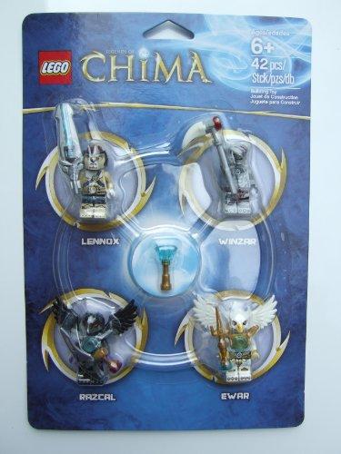 Legends of Chima Lego Set #850779 Minifigure Accessory Set [Lennox, Razcal, Ewar & Winzar]