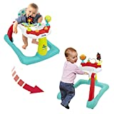 Kolcraft Tiny Steps 2-in-1 Infant & Baby Activity Walker - Seated...