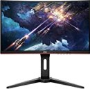 2021_AOC 24 inch Gaming Monitor, FHD 1920x1080, 1500R, VA, 165Hz (144Hz Supported,144hz 1ms), FreeSync Premium, Height Adjustable Black, HDMI Cable and Mouse pad Included.