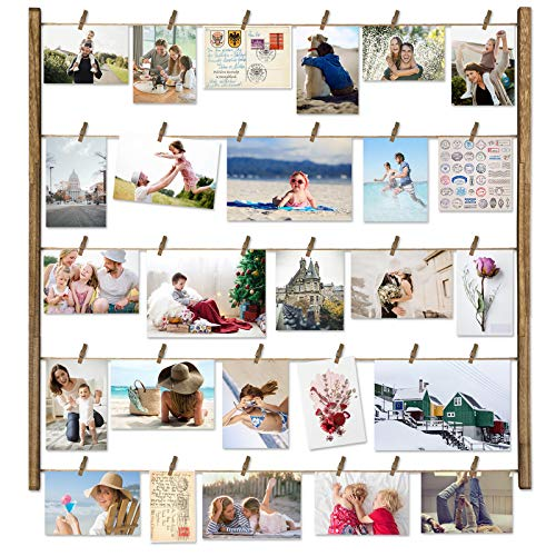 Love-KANKEI Wood Picture Photo Frame for Wall Decor 26×29 inch...