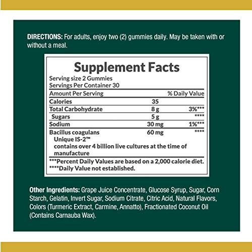 Probiotics by Nature's Bounty, Probiotic Gummies for Immune Health & Digestive Balance, 60 Gummies 7