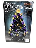 Mr Halloween Haunted Halloween Tree with Removable Bulbs