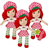 Strawberry Shortcake Party Favors Pack -- Set of 3 Dolls (Strawberry Shortcake Party Supplies)
