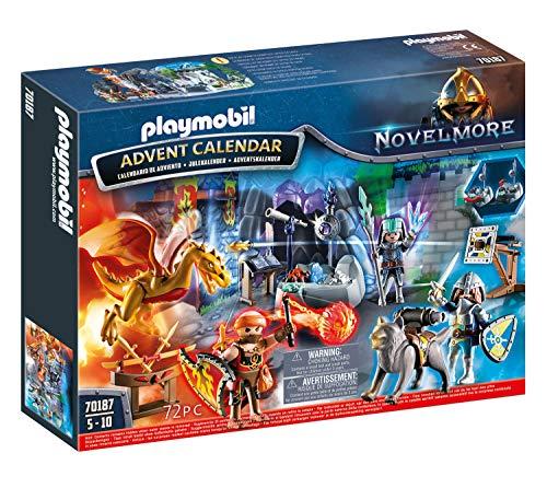 Playmobil Calendario dell'Avvento 70187 - La Battaglia dei Cavalieri, dagli 8 Anni