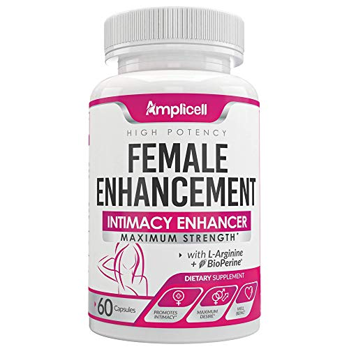 Amplicell Female Enhancement - Libido Booster for Women (60caps) and Advanced Keto Pills BHB Ketosis Diet for Women (60caps) 5