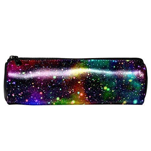 Astucci per matite TIZORAX Universo astratto Nebulosa Notte Cielo stellato Colori dell'arcobaleno...