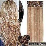 Extension a Clip Cheveux Naturel MAXI VOLUME - Rajout 100% Vrai Cheveux...