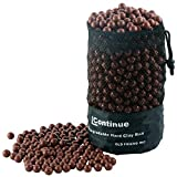 L Continue 1500 Pieces Diameter 3/8' Slingshot Ammo Biodegradable Hard Clay Ball - Coffee.