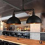 éclairage romantique Loft vintage country américain fer forgé industriel...