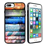 VONDER for iPhone 7 Plus Case,iPhone 8 Plus Case, Harry Potter Books Silicone Rubber Case Cover for iPhone 7 Plus / 8 Plus