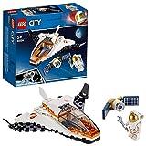 LEGO CitySpacePort MissionediRiparazioneSatellitare, Giocattolo Ispirato alla NASA, Serie Spedizione su Marte, 60224