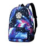 Lawenp Hail Sagan Galaxy Mochilas para Viajes Escolares, Compras de Negocios, Trabajo, Bolsos con Estilo, Mochilas Informales