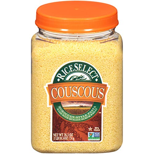 RiceSelect Original Couscous, 26.5-Ounce Jars, 4-Count