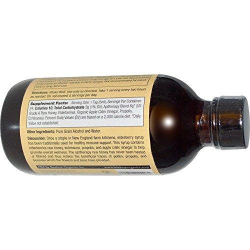 Honey Gardens Elderberry Syrup w/Apitherapy Raw Honey, Propolis & Elderberries | Immune Formula | 24 Serv | 4 fl. oz. 2