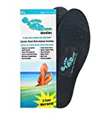 Step Right Insoles Relieves -Plantar Fasciitis- Neuropathy- Poor Circulation- Foot Pain and Heel Spurs (M Womens 8.5-10 : Mens 7-8) (S)